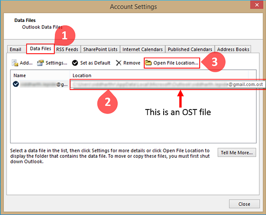Select and Open File Location