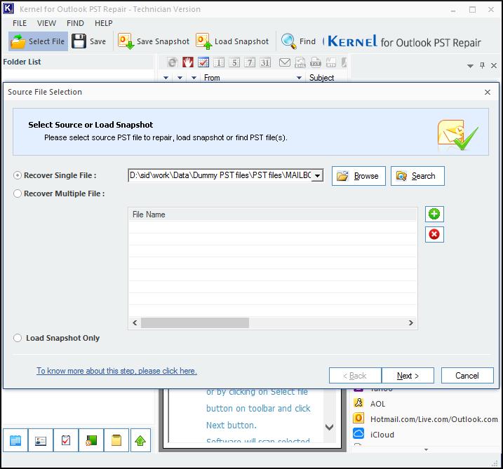 Kernel for Outlook PST Repair