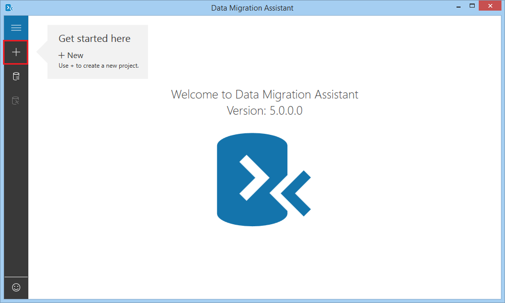 Add new migration project