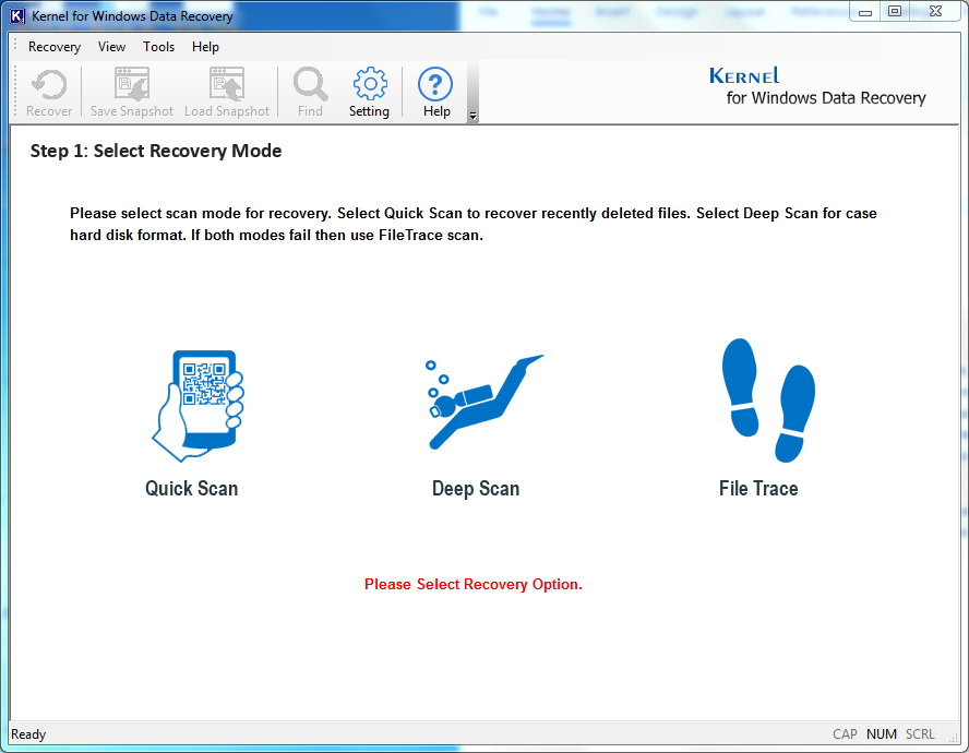 Kernel Windows Data Recovery