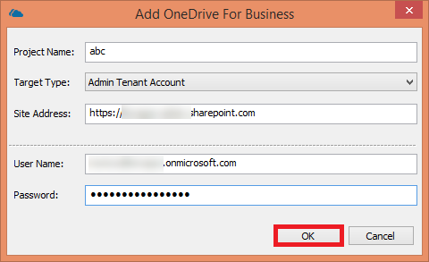 Add OneDrive for Business