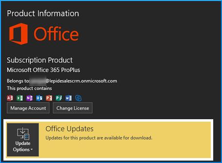 Office Updates