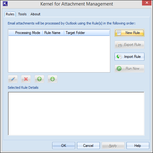 Attachment Management Software
