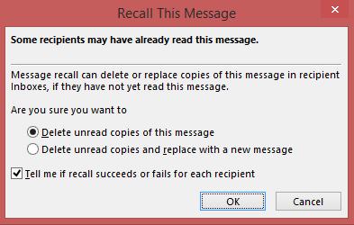 Delete unread copies