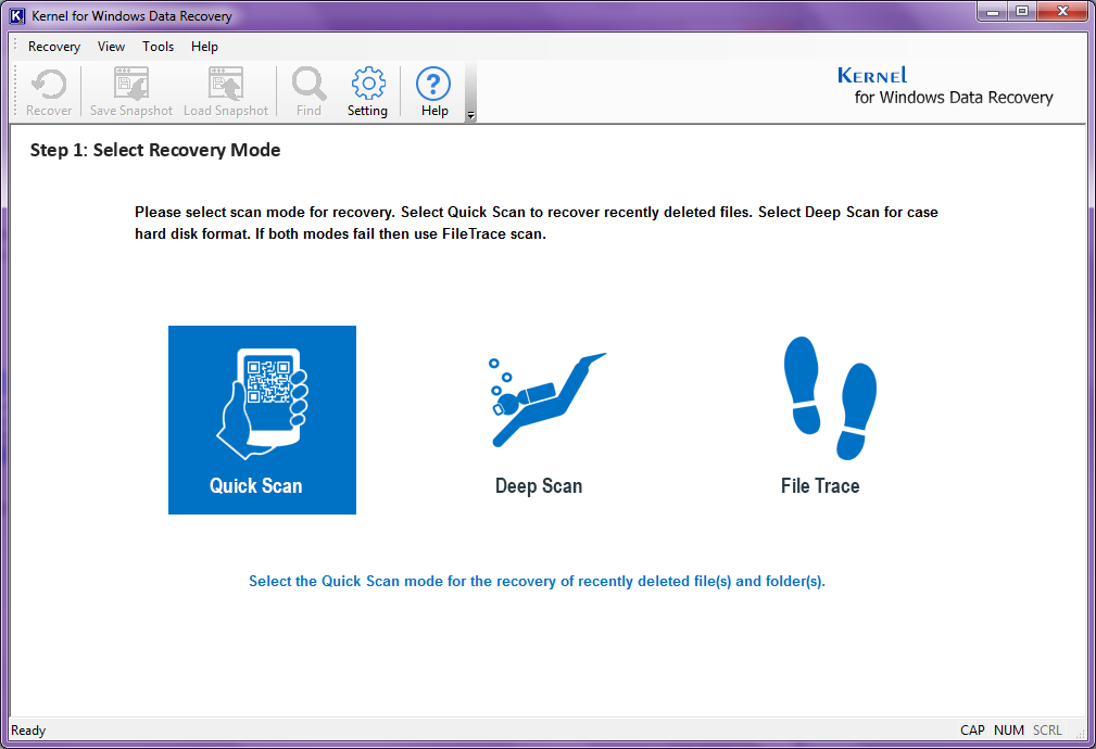 Kernel for Windows Data Recovery Software