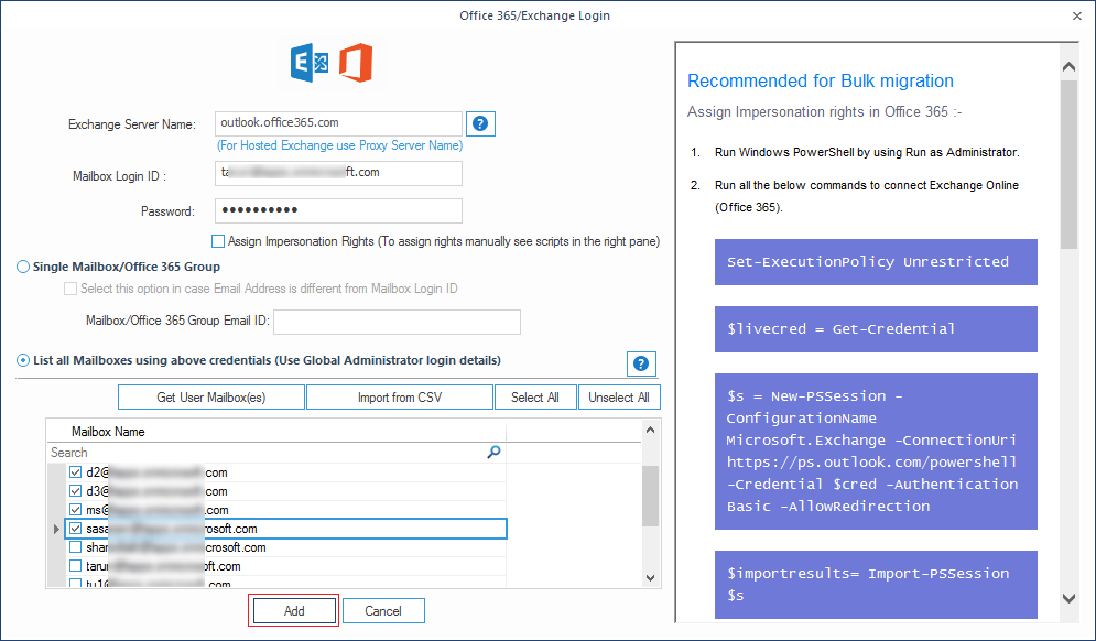 migrating data to Office 365