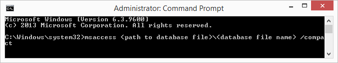 opened Command Line applicationgxsda