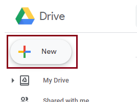 click on the New button