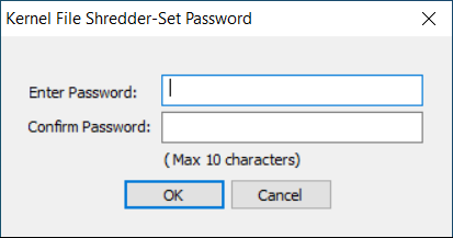 Add the password