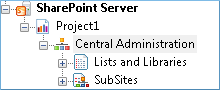 SharePoint Server site is presented