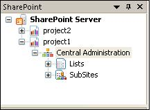new SharePoint Server is present in the destination pane