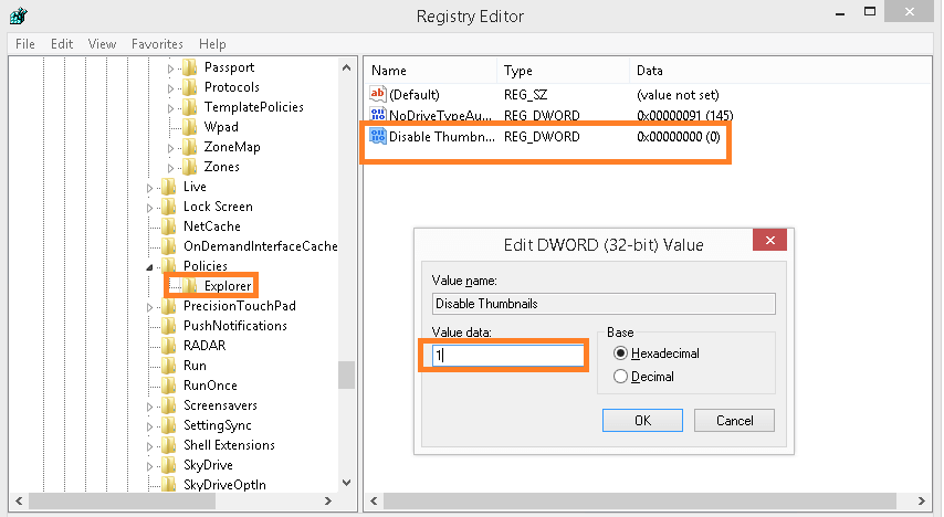 Windows Registry Editor