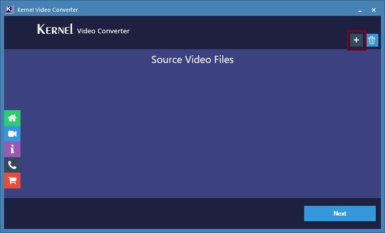 Launch Kernel Video Converter