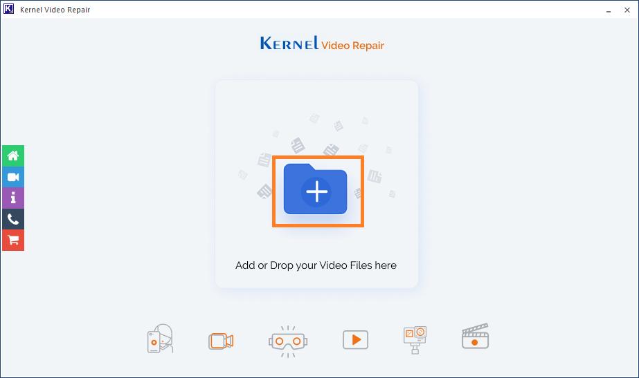 Kernel Video Repair tool