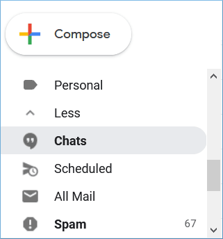 select the messages there