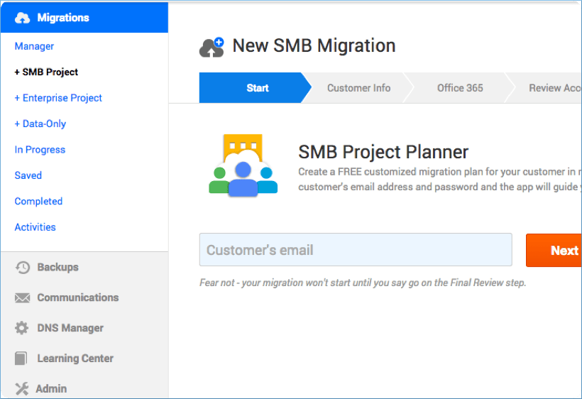 Skykick Migration Suite for G Suite to Office 365