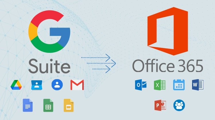 G Suite to Office 365