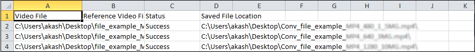 View report in notepad or in Excel