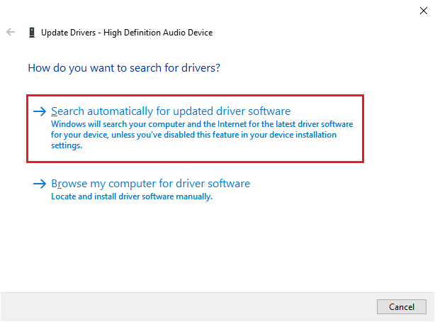 install the latest   driver