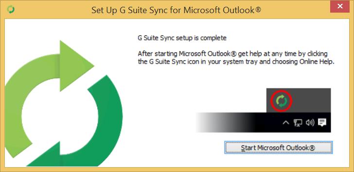 Start Microsoft Outlook