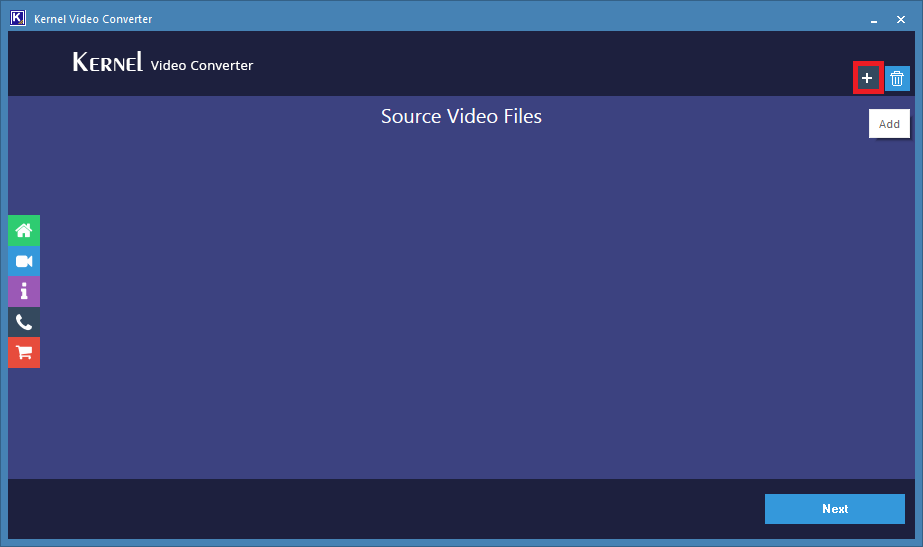 add the WebM video files