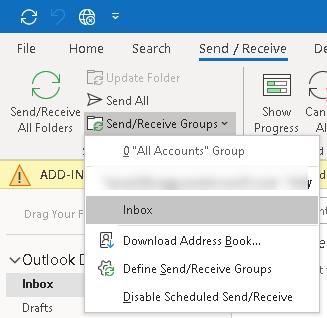 Send/Receive All Folders