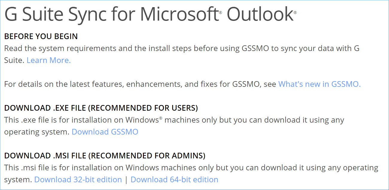 Download GSSMO