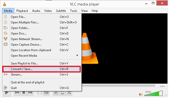 Launch the VLC Media Player