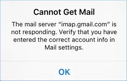 the email client does not access new messages