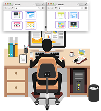 Employee Desktop Live Viewer Software to Monitor Employee