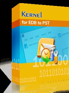 Kernel for EDB to PST
