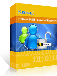 Kernel for Hotmail MSN Password Recovery