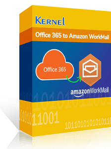 Kernel Office 365 to Amazon WorkMail