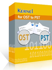 Kernel for OST to PST Converter