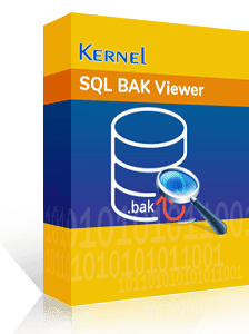 SQL BAK Viewer