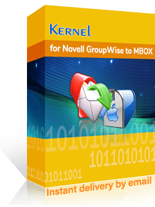 Kernel for GroupWise to MBOX