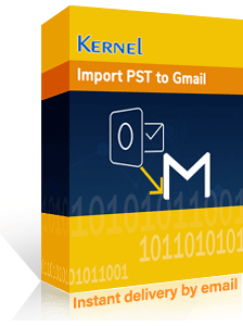 Kernel Import PST to Gmail