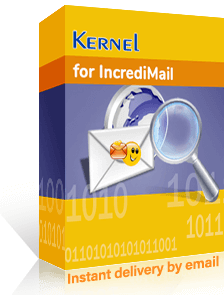 Kernel for IncrediMail Recovery