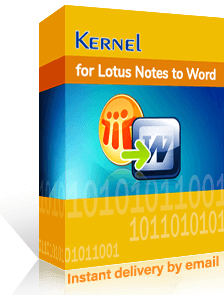Kernel for Lotus Notes to Word
