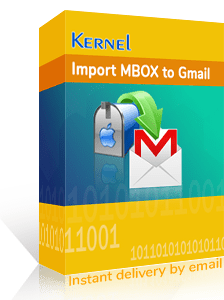 Kernel Import MBOX to Gmail Box