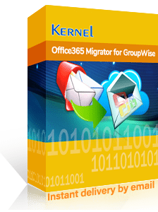 Kernel Office 365 Migrator for GroupWise