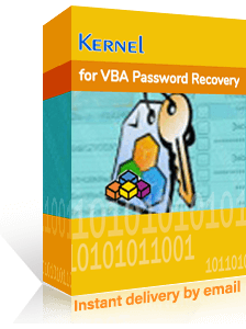 Kernel for VBA Password Recovery