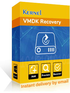 Kernel VMDK Recovery Software