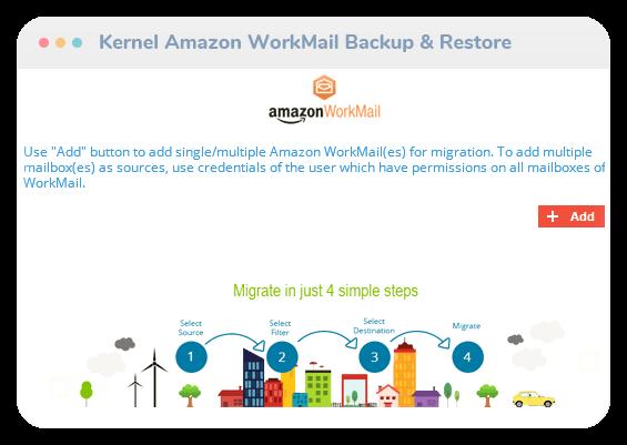 Kernel Amazon WorkMail Backup & Restore