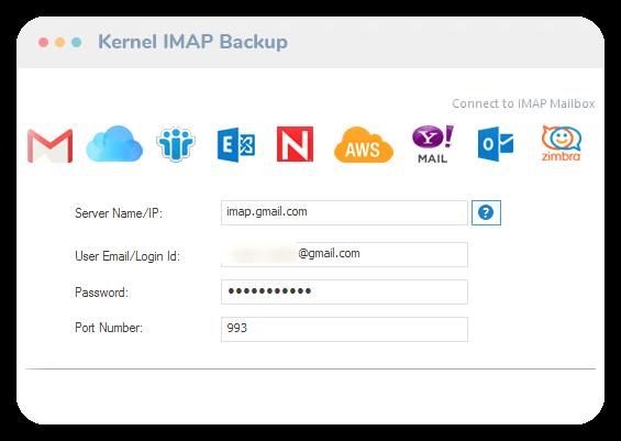Kernel IMAP Backup