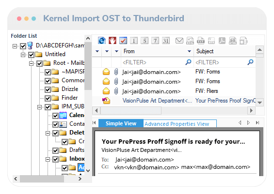 Import OST to Thunderbird Video Thumb