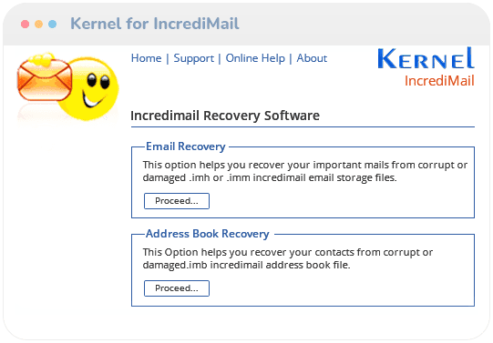 Kernel for Incredimail Recovery Video