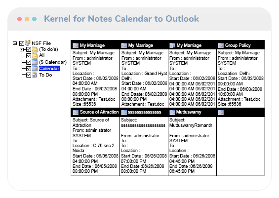 Notes Calendar to Outlook Video Thumb