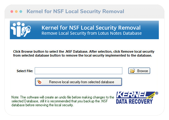 lotus notes local security removal thumb