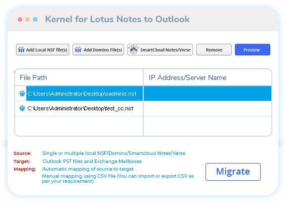 Lotus Notes to Outlook thumb